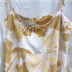 Manuhealii Tan Hibiscus Dress 🌺